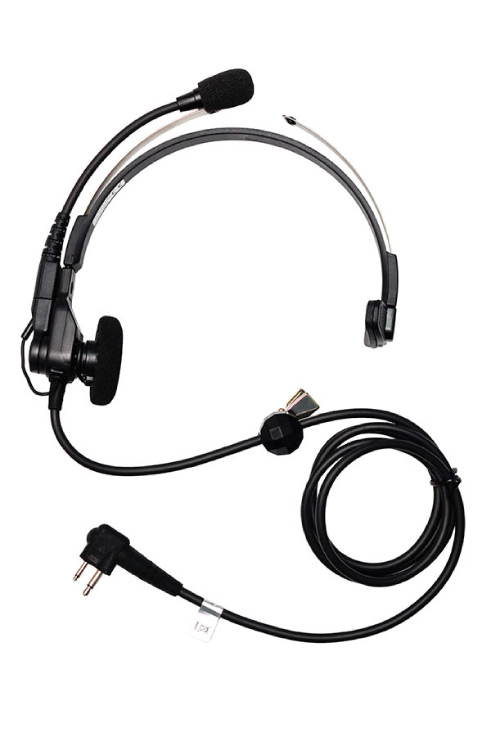 over the head single muff headset